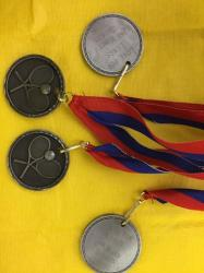 Medals provided to the winners